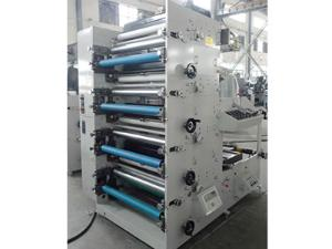 Flexo Printing Machine (4-6 Colors),ZBS-820